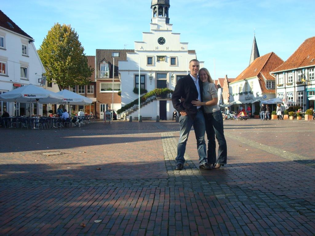 Brian and Evelyne in Lingen