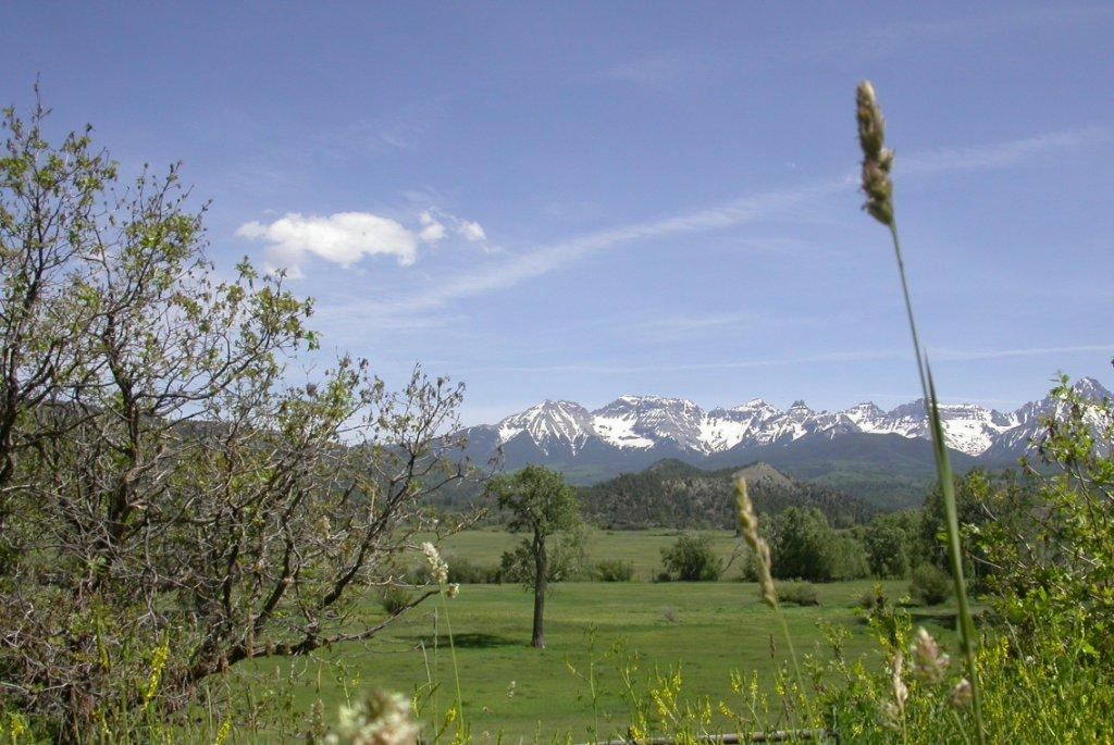 The San Jaun Mountains