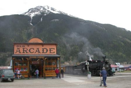 The Durango-Silverton train